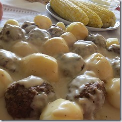 Swedish Meatballs with Authentic Cream Sauce.  'Oh, my!'