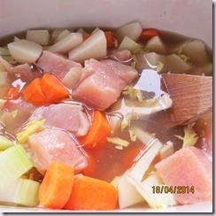 Chicken Stew (aka chicken pot pie filling) (2/6)